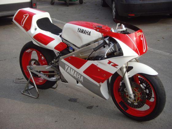 For sale yamaha tz250w prototype race bikes gbp 7499 for Yamaha rally bike for sale