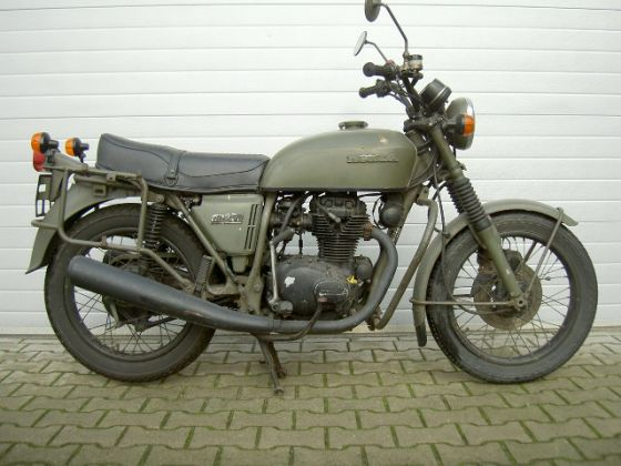 for sale honda cb 250 g french army 1975 race bikes. Black Bedroom Furniture Sets. Home Design Ideas