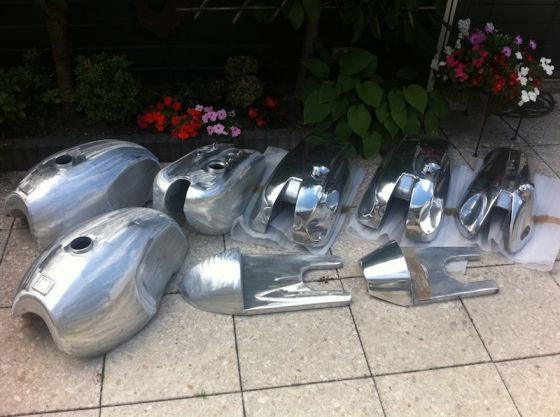 For Sale Aluminium Tank Seat Fairing Etc Parts Spares